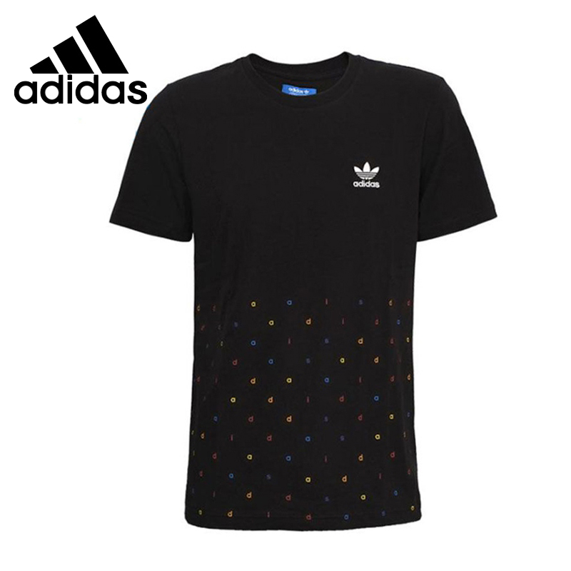 Original New Arrival  Adidas Originals  Men's   T-shirts short sleeve Sportswear  цены онлайн