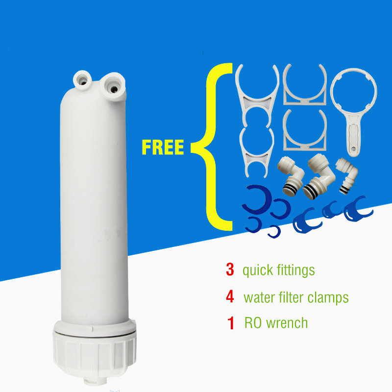 many Fittings For Water Filter Free Shipping Water Filters 400 Gpd Hid Ro Membrane 3012--400+ro Membrane Housing Water Treatment Appliances