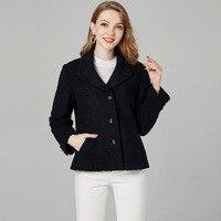 2018 Европа и США Женская одежда осень зима Новый ягненка, Короткое пальто, короткие женские 6026 К