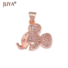 Hot Trendy Jewelry Cute Zircon Hello Kitty Charms For Making Diy Copper Micro Pave Cartoon Floating Bijoux Gifts