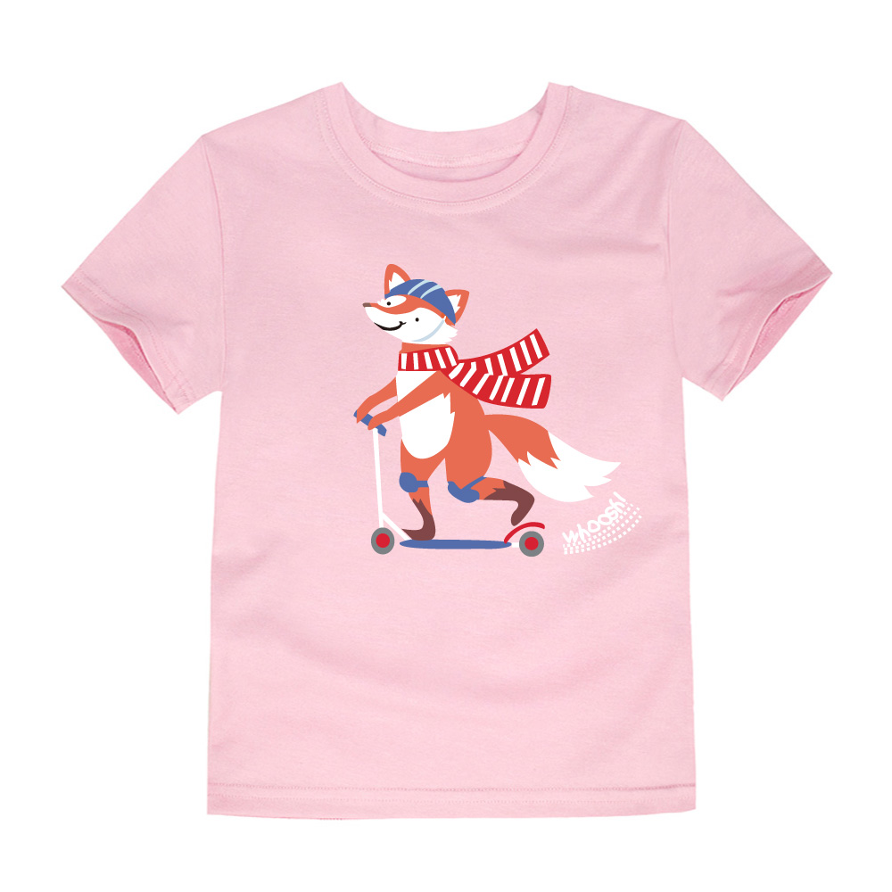 HTB1EvqsQVXXXXcwXXXXq6xXFXXXP - SMHONG 2-14 Years Old Fox Children Kids Shorts sleeve Tops Tees T Shirt Summer Teenager Boys Girls T-Shirt For Gift