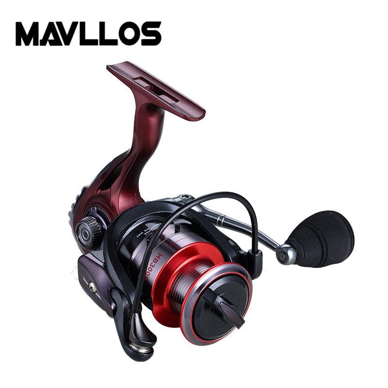 Image 5 - Mavllos 18kg Large Drag Power Fishing Spinning Reel 2000 3000 6000 Series 5:5:1 Saltwater Sea Carp Fishing Reels Metal Handle-in Fishing Reels from Sports & Entertainment
