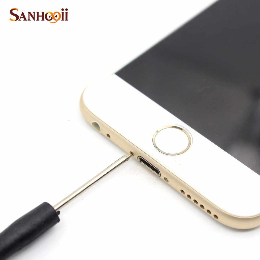 SANHOOII DIY 1pcs Precision Screwdriver Phone Teardown Repair Tool for iPhone 5s 6 6s Plus Slotted/Phillips/Y-Type/Pentalobe 0.8