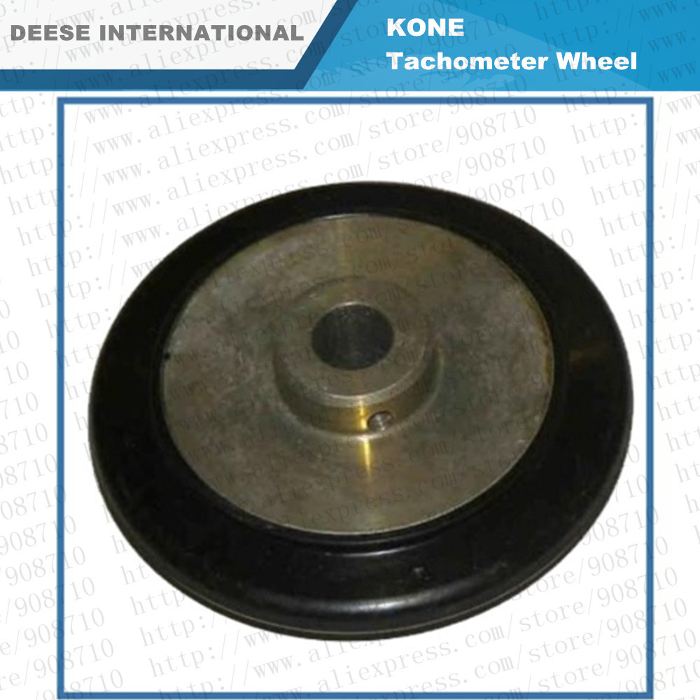 Kone Tachomenter wheel(L) for Elevator and Escalator spare parts by DHL