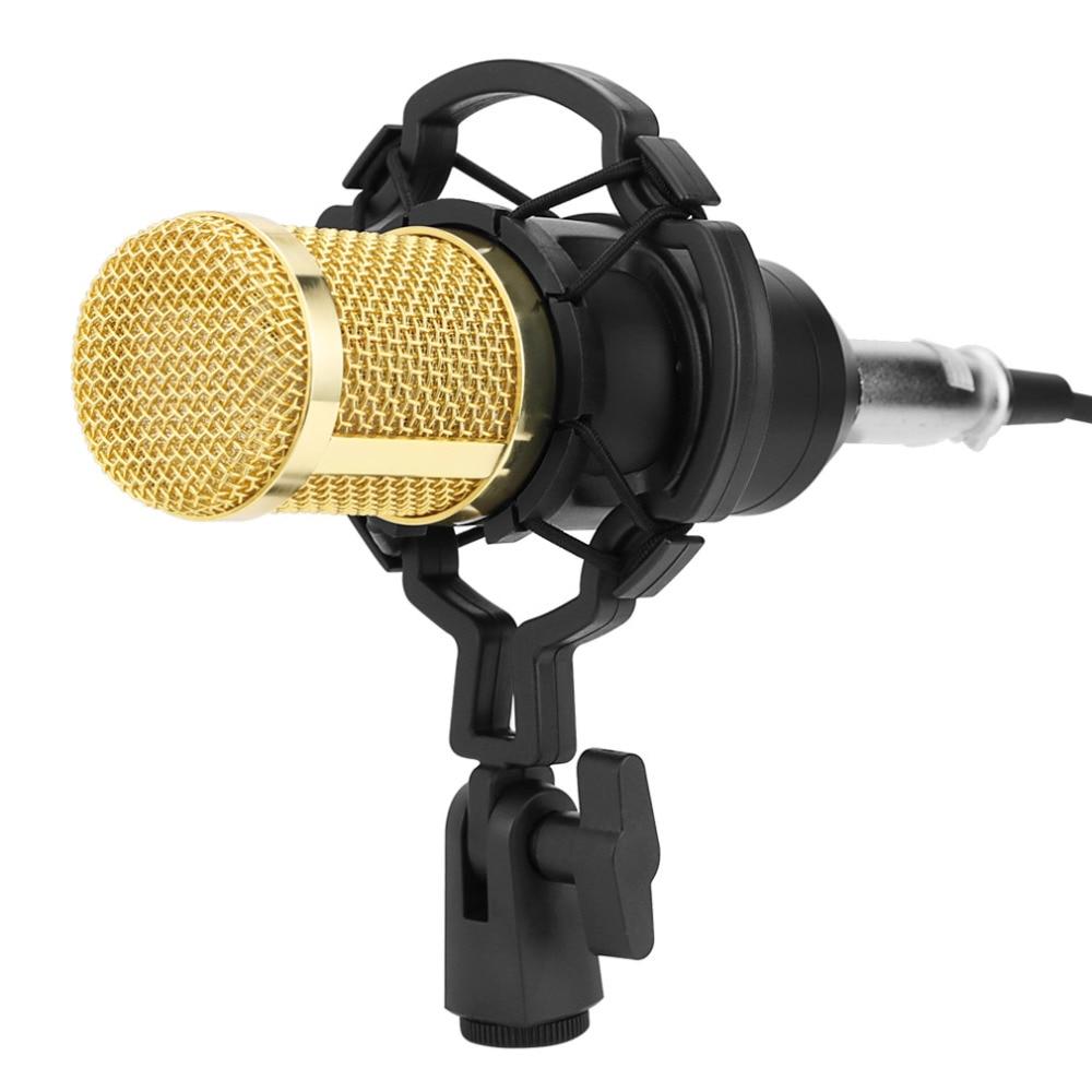 Bm 800 micro pour karaoké Kits Professionnel bm800 Studio microphone à condensateur Faisceau Mikrofon avec Filtre Alimentation Fantôme - 3