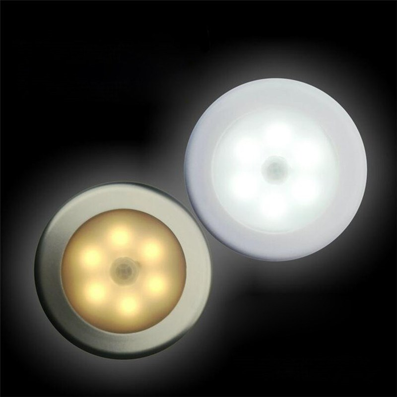Motion Sensor Led Night Light with Battery powered Wall Night Lamp Light Fixture for Bedroom Pathway