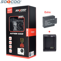 Original SOOCOO C30R 2 4G Remote Control 4K 24fps 2K 30fps Wifi Action Camera Gyro 30m