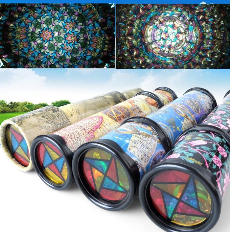 Imaginative Cartoon Animals 3D Kaleidoscope Colorful Kaleidoscope Toy Early Childhood To ...
