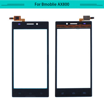 Tested 20pcs/lot Touch Panel For Bmobile AX800 Touch Screen Glass Digitizer Sensor Replacement Free Shipping