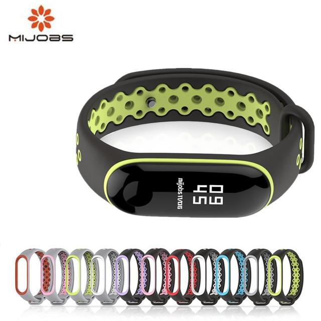 Sport Mi Band 3 Strap wrist strap for Xiaomi mi band 3 sport Silicone Bracelet for xiaomi Mi band 3 band3 smart watch bracelet