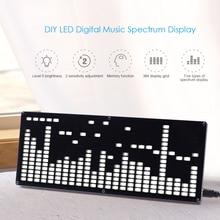 DIY LED Digital Music Spectrum Display Kit SCM LED Module Kit Sets Electronics Diy Speaker LED Module Kit