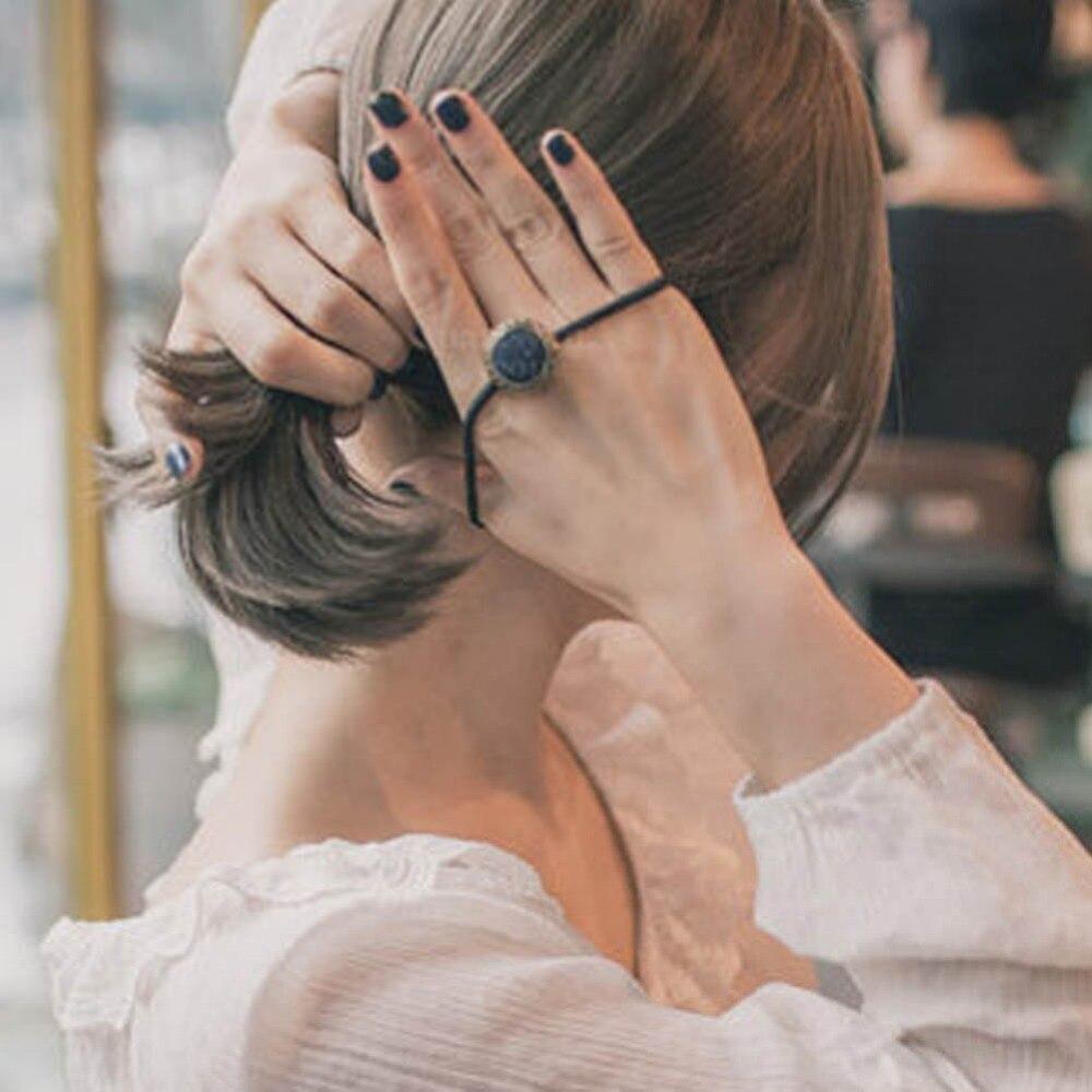 Fabric Hair Accessories For Women Korean Elastic Hair Ring -2430