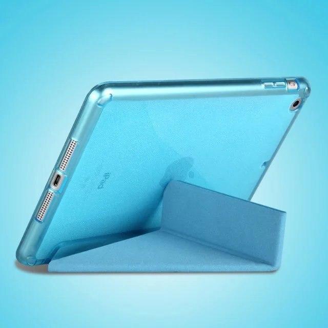 Új Hot PU bőr karcsú mágneses elülső intelligens borító + - Tablet kiegészítők