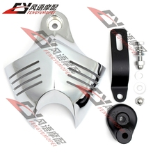 New Chrome Motorcycle Horn Cover For Harley Dyna Softail Sportster Electra Road King Street Tour Glide