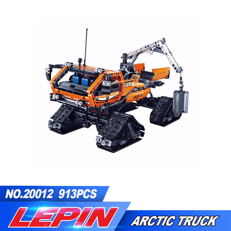 New 913pcs Lepin 20012 Technic Series Mechanical Group The Polar Adventure Vehicle 2in1 Building Blocks Bricks Set Toys 42038