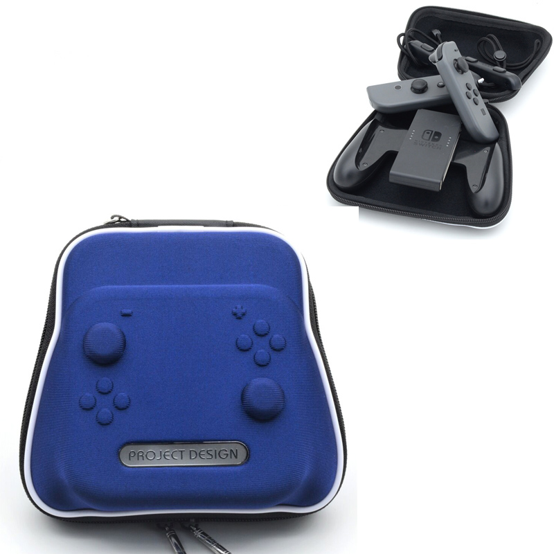 Blue Travel Carry Pouch Case For Nintend Switch Nintendo NS Carrying Travelling Bag Controller font b