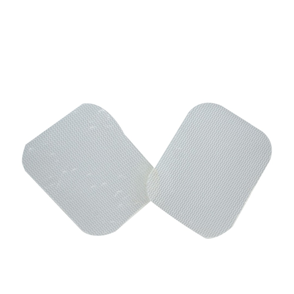 1000Pcs/Pack Silicone Gel Tens Unit Electrode Replacement Pads Self adhesive Transparent For Mulcle Stimulator Acupuncture Unit