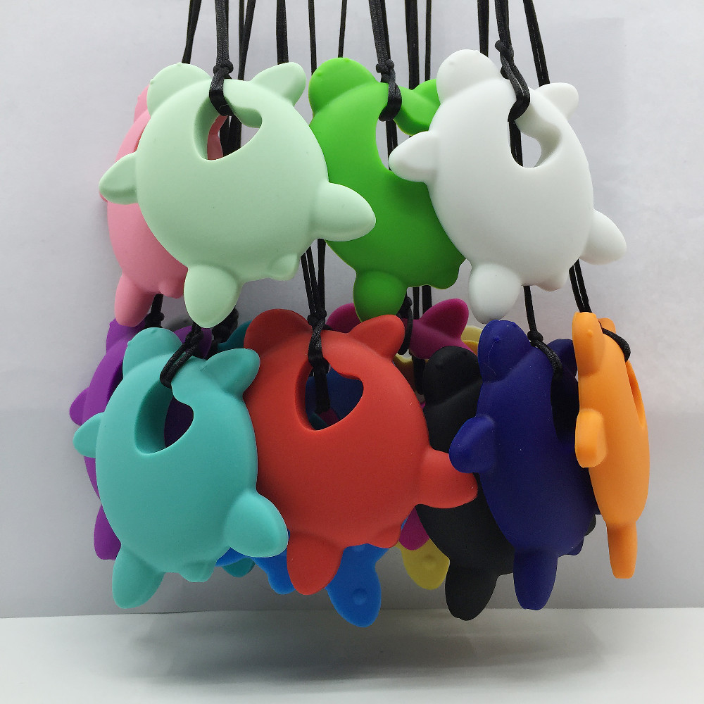 NEU! 10 Stück / Los Sehr große Schildkröten Silikon Zahnen Kauen - Säuglingspflege - Foto 3