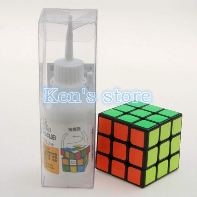 Lubricant Lube Oil for Speed Puzzle Magic Cube Best Silicone Lubricants Cube