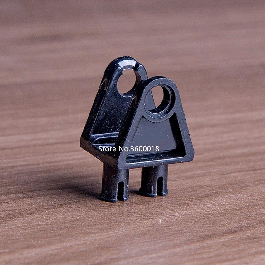 10pcs/lot Liftarm Decool Technic Parts Compatible With Legos 32069 Steering Bolt MOC DIY Blocks Bricks Parts Set