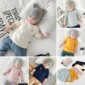 Great Quality Baby Cotton Autumn T-Shirts - Small Sheep detail