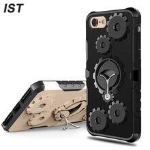 Ist New Cool 7 Мобильный телефон сумка для iPhone 7 чехол кольцо Дизайн Броня защитник Замена держатель телефона Чехол