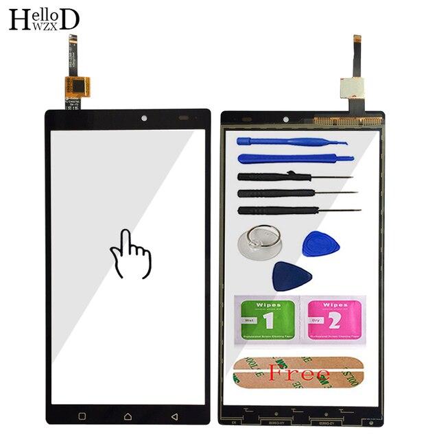 المحمول شاشة اللمس لينوفو فيبي K4 ملاحظة A7010a48 A7010 X3 لايت تاتش زجاج الشاشة لوحة مرقمة الاستشعار أدوات لاصق