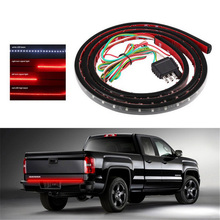 22W Auto LED Strip Light DC12V-24V Truck Tail Lamp Car Daytime Running Trailer Tailgate Signal Brake