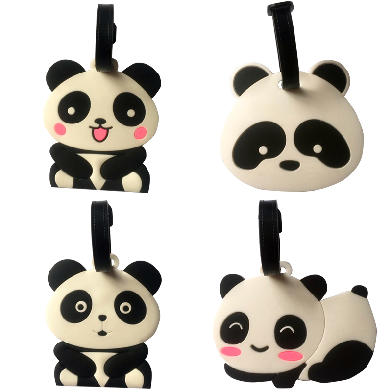 Travel Accessories panda Creative Luggage Tag horse Cartoon Silica Gel Suitcase ID Addres Holder Baggage Boarding Tags Portable Travel Accessories panda Creative Luggage Tag horse Cartoon Silica Gel Suitcase ID Addres Holder Baggage Boarding Tags Portable