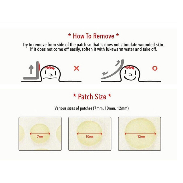 24 pcs Invisi Cosrx Acne Pimple Master Face Spot Scar Care Treatment Stickers Anti-inflammatory Invisible Acne Patch Face Beauty 5