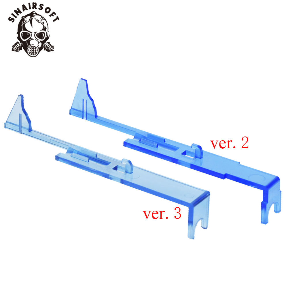 SHS Upgraded Version Transparent Reinforcement AK Tappet Plate For Airsoft AEG Version 2/3 Gearbox