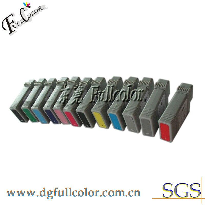 Бесплатная доставка PFI101 чернильный резервуар с высококачественными пигментными чернилами и чип для Canon imagePROGRAM IPF5000 чернильный картридж