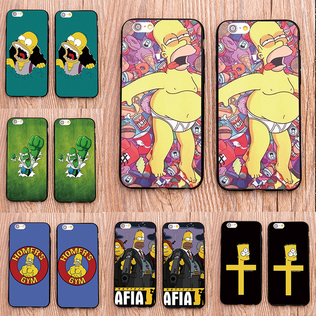 The Simpsons Case For Samsung & iPhone