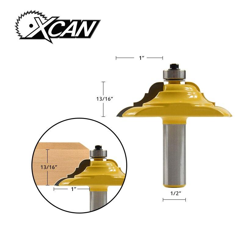 1 unid 2 1/2 ''Convex fresa router bit para carpintería moldeo y Edging Router Bit