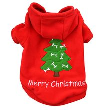 Puppy Dog Christmas Winter Clothes Costume Outwear Coat Christmas Pet Dog Winter Hoodie Coat