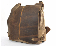 FREE SHIPPING 2014 NEW Arrival Men Canvas Vintage Backpacks Casual Sports Bags For Men Women Genuine