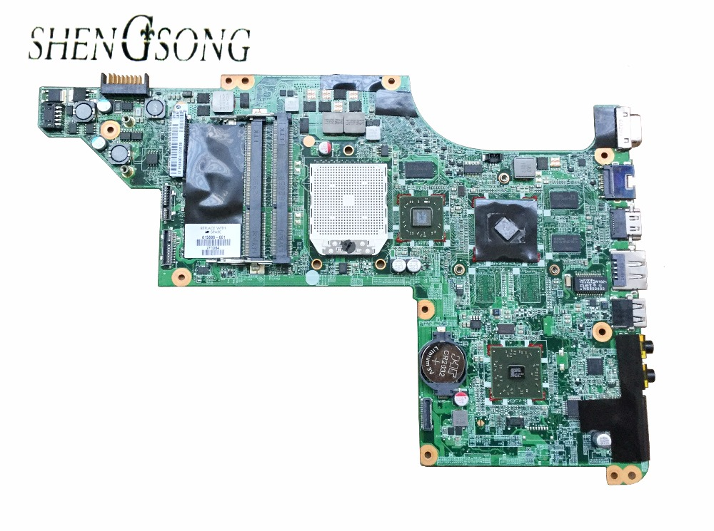615686-001 Free Shipping laptop motherboard for HP DV7-4000 motherboard DDR3 RAM full Tested 598449 001 laptop motherboard mini 5101 5102 5105 5% off sales promotion full tested