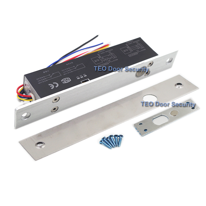 5 Wires Electric Lock Magnetic Output with Timer DC12V Fail Safe ...