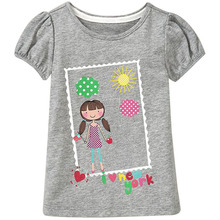 18 Months 6T Baby Girls T Shirt Summer Cute Cartoon T Shirt Children s Clothing European