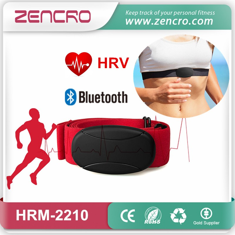 Bluetooth 4.0 chest strap HRV heart rate monitor