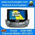 Android 4.4 аудио dvd стерео радио для Chevrolet Malibu 2012-2013 с BT AUX 3 Г WI-FI HD 1080 P разрешение 1024*600