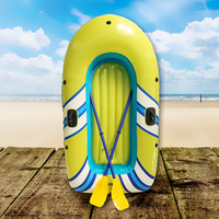 188cm Inflatable Boat Fishing Float Swimming Pool Accessories Kayaking Air Mattress Water toys with paddle luchtmatras zwembad