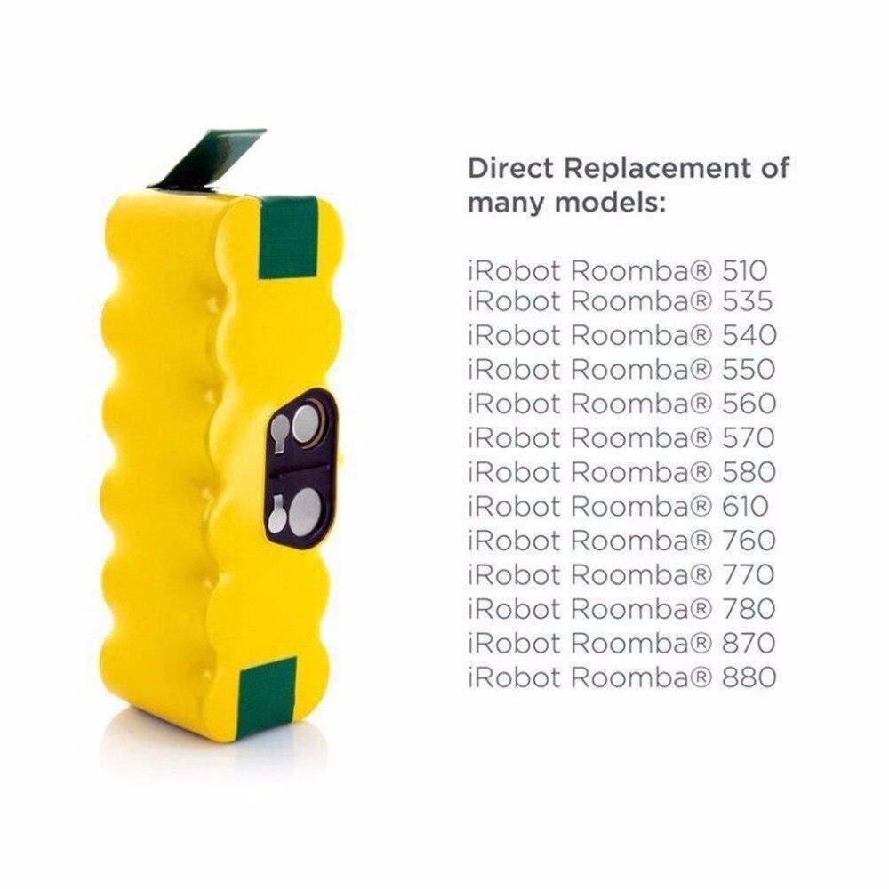 Ocday 14.4 В 4800 мАч Ni-MH Пылесосы для автомобиля Перезаряжаемые Батарея Замена Батарея подходит для Пылесосы для Roomba
