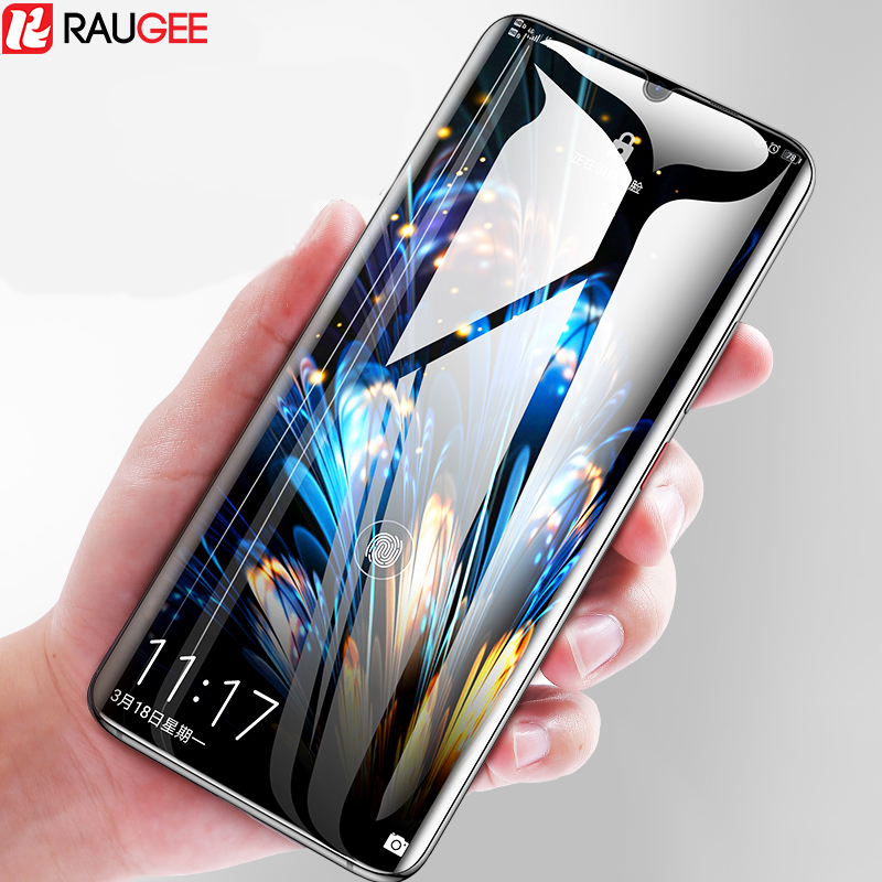 Raugee Glass For Huawei P30 Lite Tempered Glass Full Glue Scratchproof Screen Protector Film For Huawei P30 P 30 Lite Pro Glass