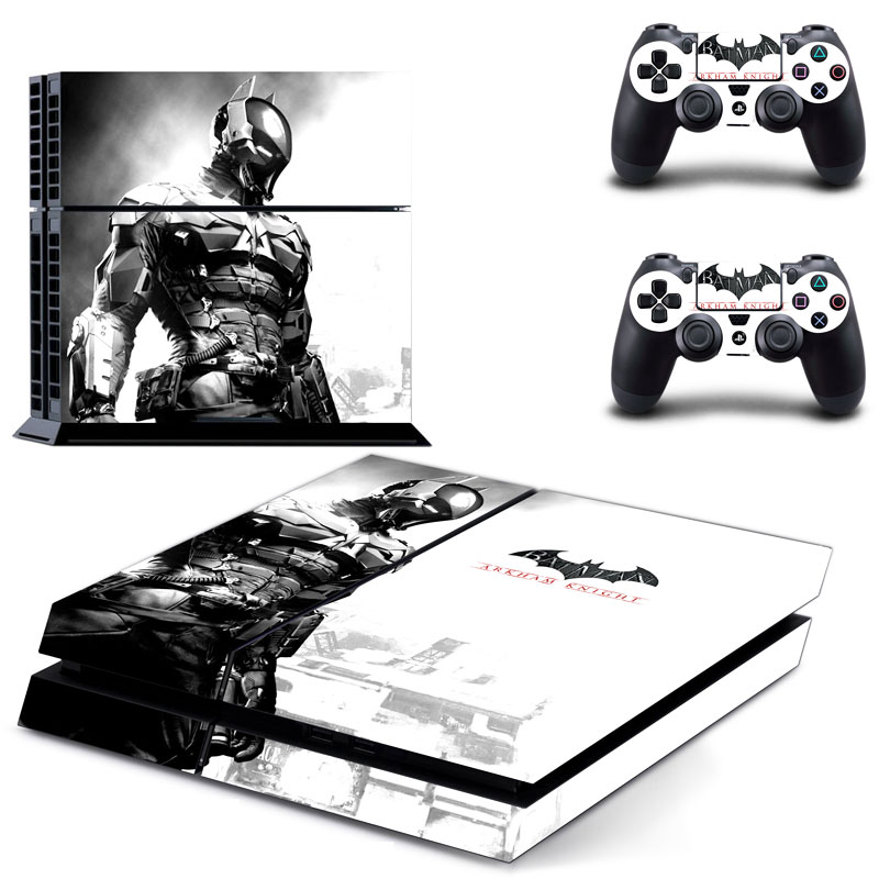 New Batman Skin Sticker For Sony PS4 PlayStation 4 Console