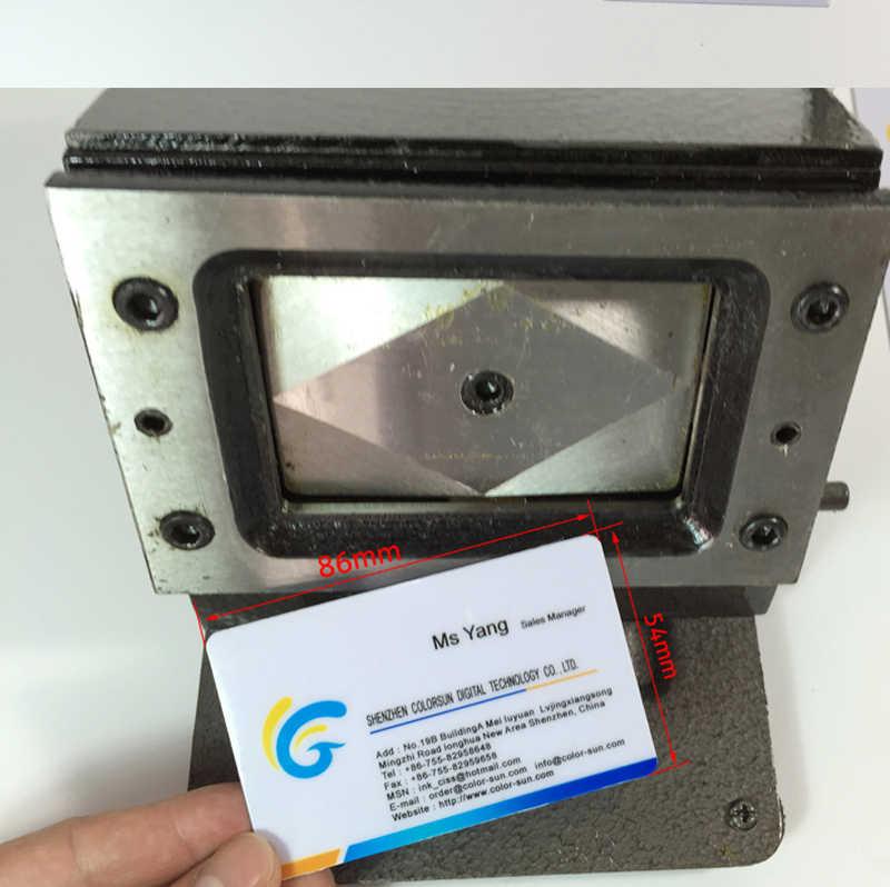 高品質マニュアルpvcカード切断機用ビジネス名クレジットidカードカッター86 × 54ミリメートル1ミリメートルpvcカードカッター