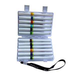 Image 5 - 12/24 สีแปรง Glitter Sparkle Shine ชุดปากกาสำหรับประกายเปล่งปลั่งตัวอักษรปั๊มโครงการ
