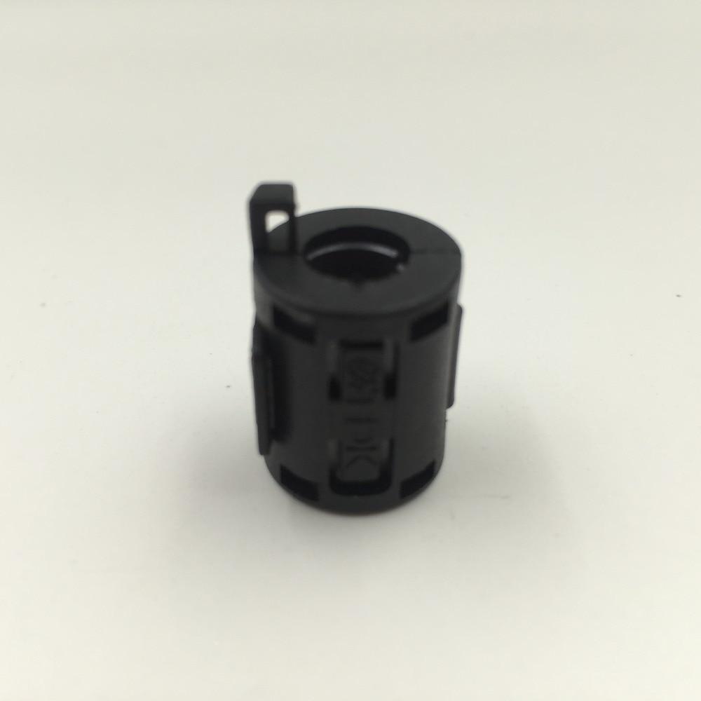TDK ZCAT 1518-0730 RFI EMI Cable Filter Ferrite Core Clip On 7mm Cable Black 5pcs tdk 9mm clip on rfi emi filter ferrite