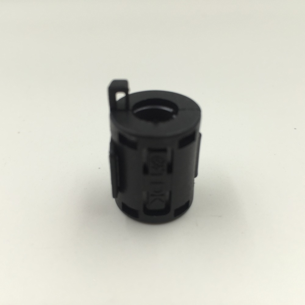 TDK ZCAT 1518-0730 RFI EMI Cable Filter Ferrite Core Clip On 7mm Cable Black screw terminals metal casing 10a ac 115 250v emi filter