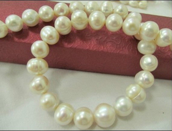 HUGE NATURAL 13MM 18 SOUTH SEA GENUINE WHITE BAROQUE PEARL NECKLACE 925 silver открытка 10 15 акварель троицкий собор о 001 021